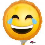 Petit ballon aluminium émotion rire 23 cm