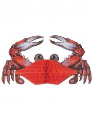 Décoration Crabe rouge 28 cm