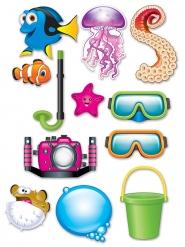 Kit Photobooth Sous la Mer 12 accessoires