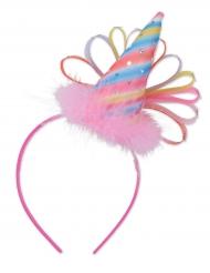 Serre-tête Chapeau de fête rose