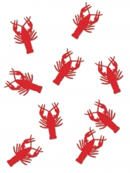 Confettis de table Homard rouge 34 grammes