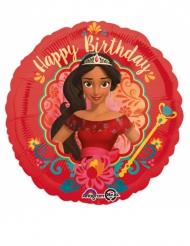 Ballon aluminium Happy Birthday Elena d'Avalor™ 43 cm