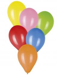 50 Ballons multicolores 23 cm