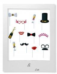 Kit Photobooth mariage avec cadre