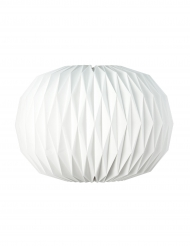 Boule origami blanche 47 x 27 cm