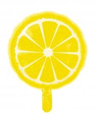 Ballon en aluminium Tropicool Citron 46 cm
