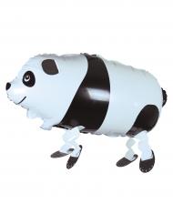 Ballon en aluminium Panda marcheur 26 x 62 cm