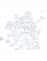 Confettis de scène Cœurs blancs 20 gr