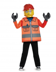 Déguisement ouvrier de chantier LEGO® garçon