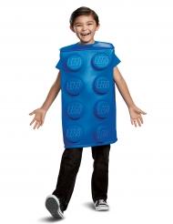 Déguisement brique Lego® bleue enfant