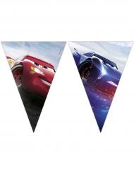 Guirlande 9 fanions Cars 3™ 2,3 m x 25 cm