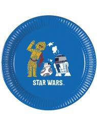 8 Assiettes  en carton Star Wars Forces™ 20 cm