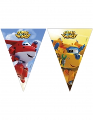 Guirlande 9 fanions Super Wings™ 2,3 m