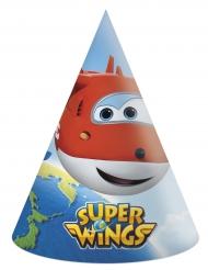6 chapeaux de fête en carton Super Wings™