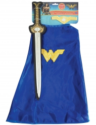 Kit épée et cape Wonder Woman™ fille