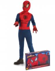 Coffret classique Spiderman™ avec gants garçon
