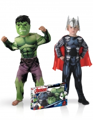 Coffret déguisement duo classique Hulk™et Thor™ garçon