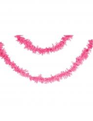 Guirlande en papier rose 7 m