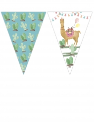 Guirlande fanions Lama Party 2,3 m x 25 cm