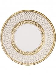 8 Grandes assiettes en carton Porcelaine 28 cm
