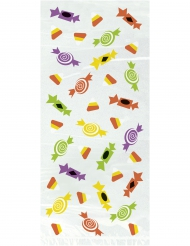 20 Sachets bonbons en plastique Silly Monsters 28 x 12 cm