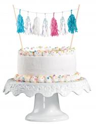 Décoration pour gâteau iridescent