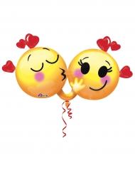 Ballon aluminium émotion amoureux 91 x 53 cm