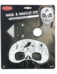 Kit maquillage et masque squelette