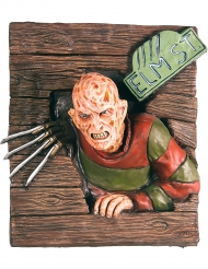 Décoration murale en relief Freddy Krueger™ 61 X 74 cm