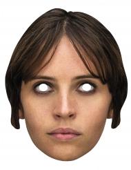 Masque carton Jyn Erso Star Wars Rogue One™