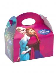 4 Boîtes en carton La Reines des Neiges™ 16 x 10,5 x 16 cm