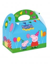 4 Boîtes en carton Peppa Pig™ 16 x 10,5 x 16 cm