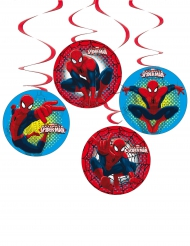 4 Suspensions en carton Spiderman™