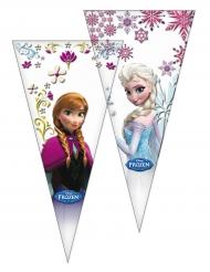 6 Sachets de fête La Reine des Neiges™ 20 x 40 cm