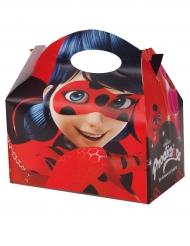 4 Boîtes en carton Ladybug™ 17 x 25 cm