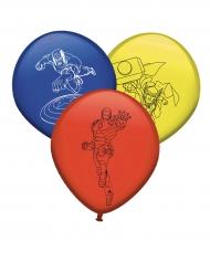 8 Ballons en latex Avengers™