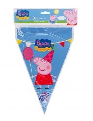Guirlande à fanions Peppa Pig™ 20 x 30 cm 3 m