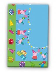 Nappe en plastique Peppa Pig™ anniversaire 120 x 180 cm