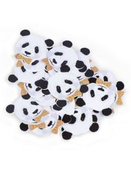 50 Confettis de table Panda 3 cm