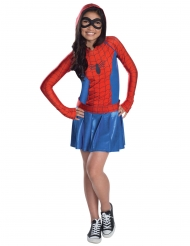 Déguisement Spider-Girl™ avec capuche fille