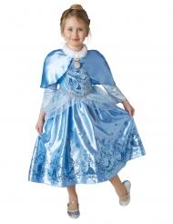 Déguisement princesse de l'hiver Cendrillon™ avec cape fille