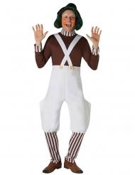 Perruque Oompa Loompa™ Charlie et la Chocolaterie™ adulte