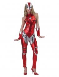 Déguisement combinaison Iron girl™ femme