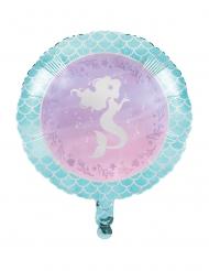 Ballon en aluminium Sirène Iridescente 45,7 cm