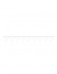 Guirlande fanions à pois multicolores 16 cm x 2,74 m
