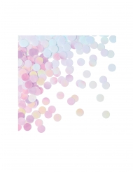 Confettis de table ronds iridescents 1,27 cm 14 g