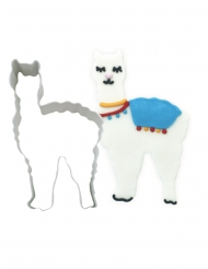 Emporte pièce Lama blanc 10,2 cm