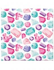 20 Serviettes en papier premium Minnie™ 33 x 33 cm