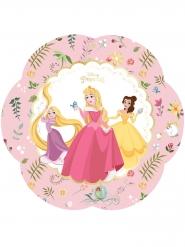 4 Assiettes en carton premium Princesses Disney™ 26 cm