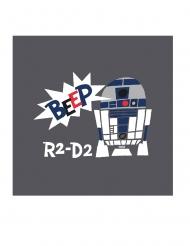 20 Serviettes en papier premium Star Wars™ 33 x 33 cm